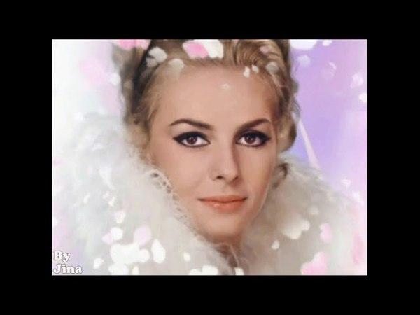 Мишель Мерсье - одна из самых красивых женщин всех времён и народов!! Адамо Падает снег.