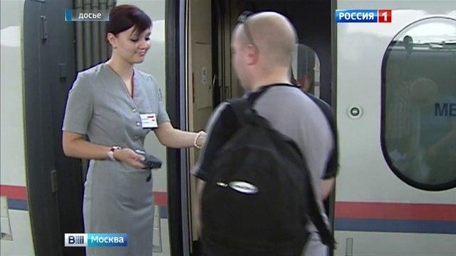 Вести-Москва • Пассажирам Сапсанов сообщением Москва-Петербург предложат экскурсионный аудиогид