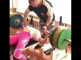 Наталья Самарина, жим лежа 140кг