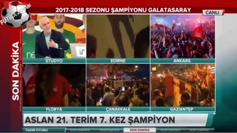Şampiyon Galatasaray Takım Oyunu Erman Toroğlu Yorumları (3) 19 Mayıs 2018