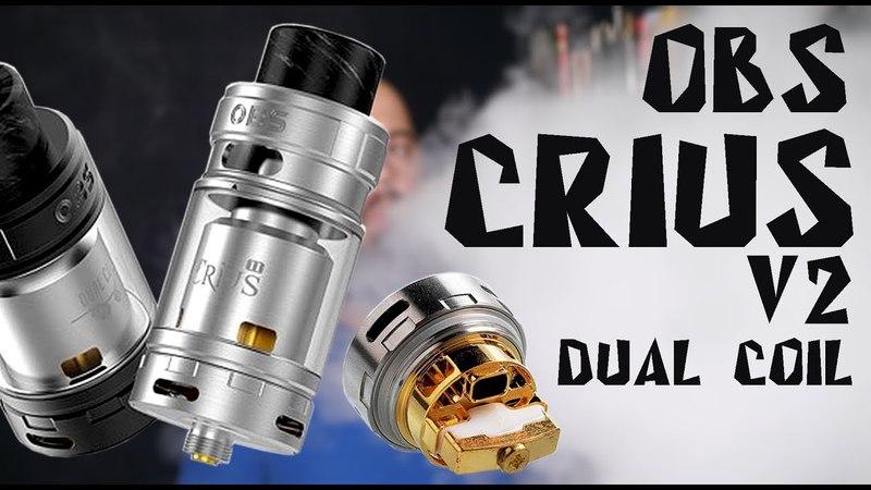 Crius V2 Dual Coil RTA by OBS | Это классика в новом исполнении
