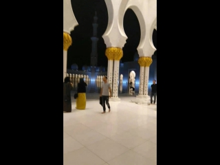 Мечеть в Абу-Даби. ОАЭ. 07.10.17 г.