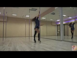 Exotic pole dance & high heels Елизавета Лоу