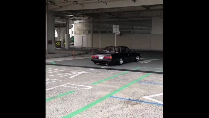 Toyota Mark II GX71 sound