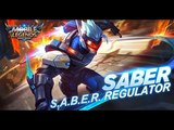 Mobile Legends Bang Bang Saber New Skin S.A.B.E.R. Regulator