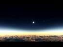 Сонечное затмение из самолета