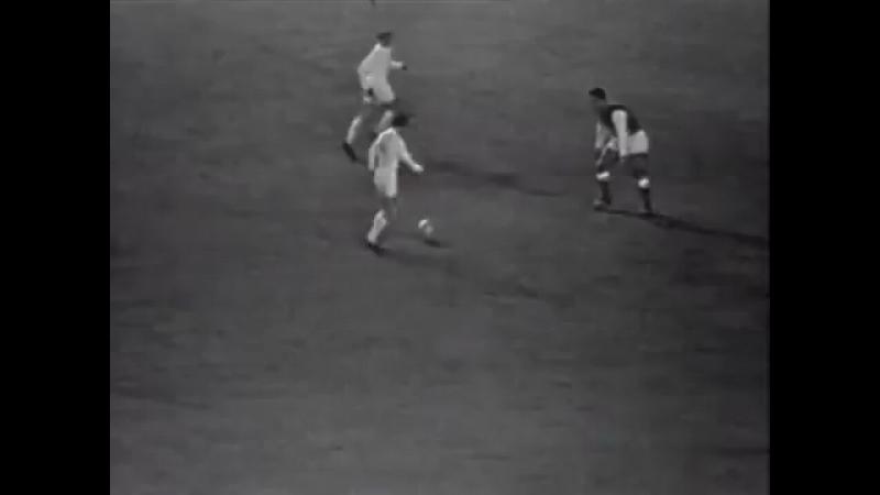 Jugadon de Paco Gento y gol ante el State Reims