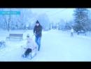 В Атажукинском саду и дети, и взрослые, не могут нарадоваться долгожданному снегу