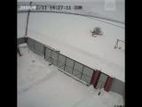 Предполагаемое видео падения Ан-148