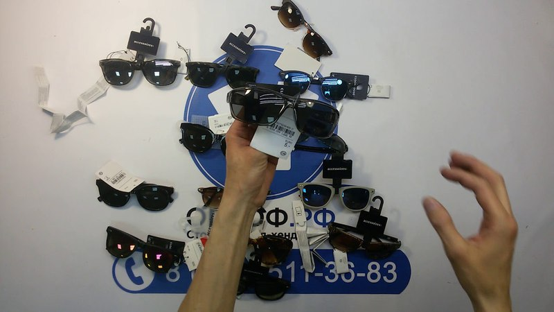 (ОТДЕЛЬНО НЕ ПРОДАЕТСЯ) CA - брендовые очки сток 25 пакет