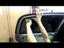 Подробная тонировка стекол автомобиля своими руками Часть 3