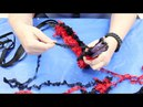 Crankin' Out Crafts ep475 4 Straw Round Lei