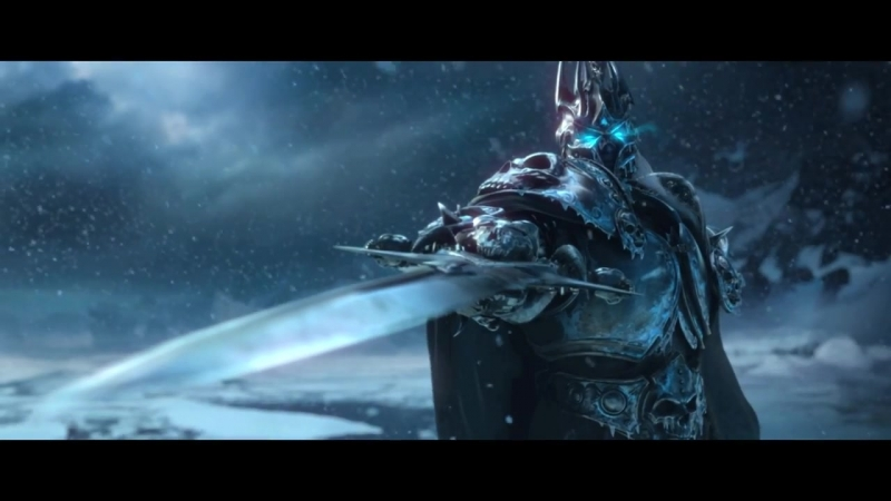 World of WarCraft Wrayh of the ligh king (trailer)