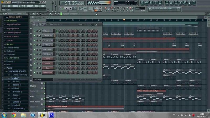[FL Studio] Joy Tears (D'n'B)