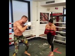 Штефан Пютц готовится к бою против Михаила Зайца