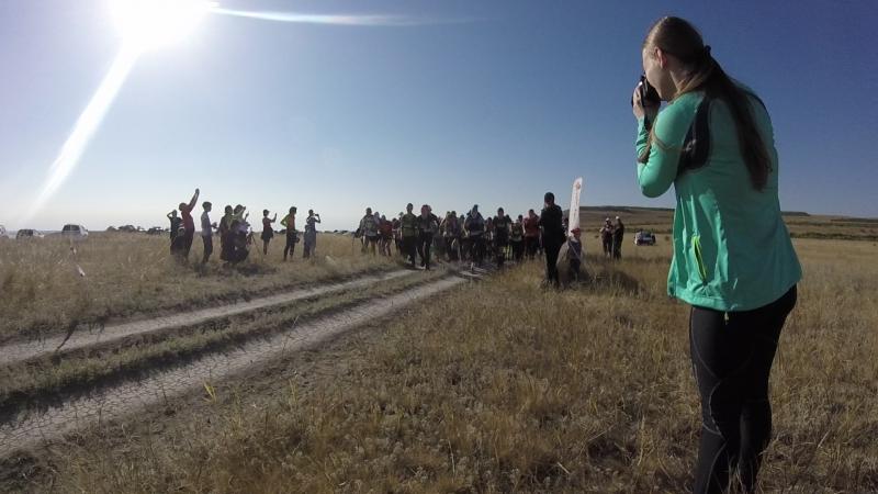 Самба Трейл 2017. Старт участников на 36 км.
