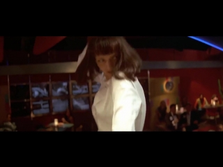 Mrs. mia wallace and vincent vega - twist (ost pulp fiction)