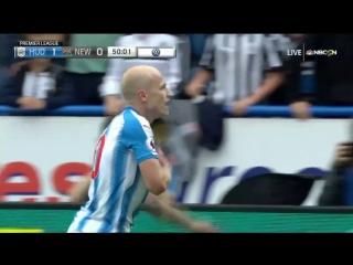 Чемпионат Англии 2017-18 / 5 лучших голов августа HD 720p
