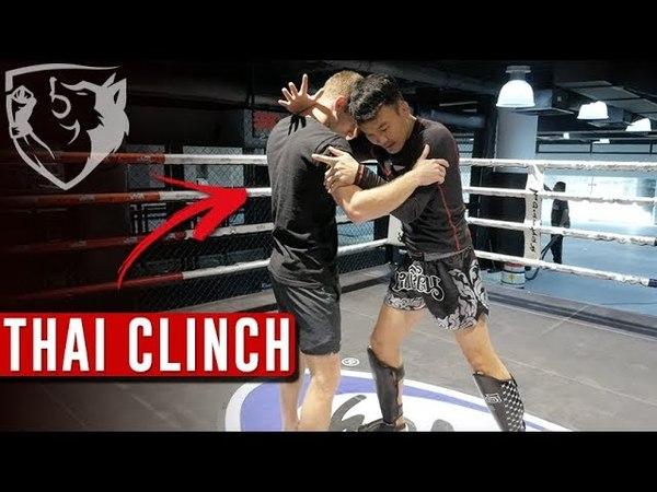 Muay Thai Clinch: