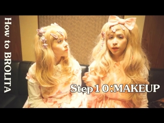 How to BROLITA ♂ MALE Lolita Tutorial |10 STEPS for Beginners with Kisamake