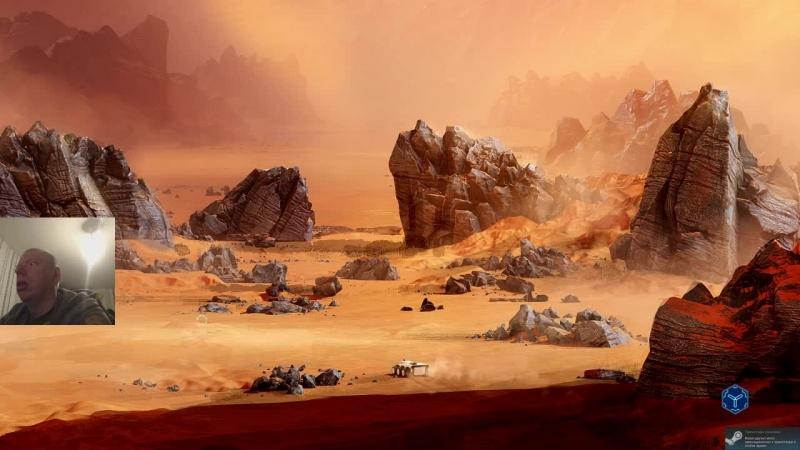 Россиянин на марсе Surviving Mars