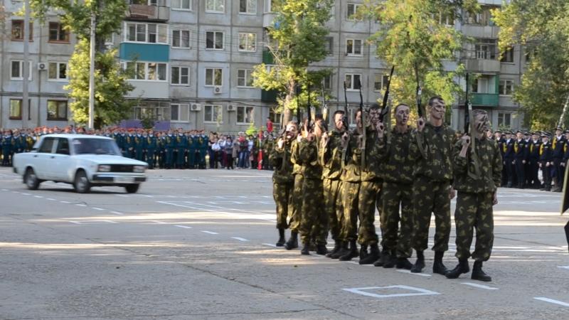 Клятва кадетов группаУдар ГАЭмТ 2017