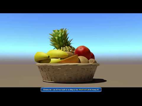 VRAY SUN - PHYSICAL CAMERA - VRAY SKY - 3D learning 3Dsmax Design - Dạy 3D ở HCM