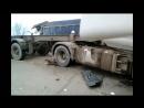 ДТП с тремя грузовиками в Белореченском районе 9 марта около 7:00 на участке автодороги Энем — Адыгейск — Бжедугхабль.
