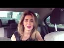 Девушка круто читает рэп в машине (OLISH...ает реп,к (720p).mp4
