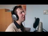 Студия звукозаписи. Записываемых с Владом новую рэп песню
