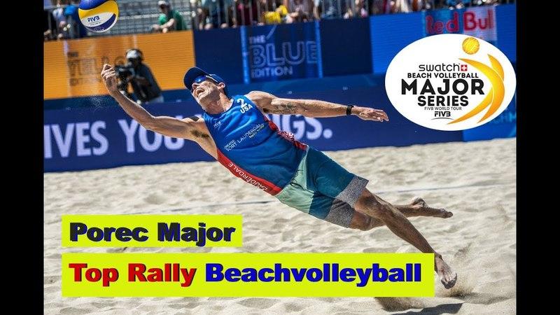 Porec Major Top Rally Beachvolleyball