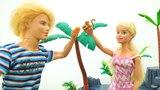 Мультфильм Барби и Кен на необитаемом острове - Видео для девочек