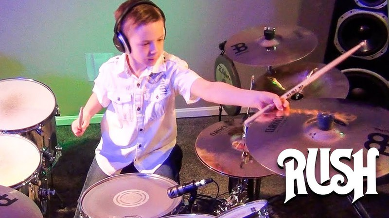 YYZ - RUSH (7 year old Drummer) Drum Cover by Avery Drummer