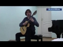 Гитарист-виртуоз выступил в детской музыкальной школе