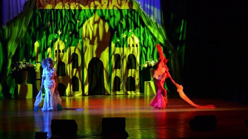 03 03 14 Огненная и Снежная королевы The Queen of fire and ice Fantasy dance by Anna Rolicheva
