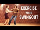 SWINGOUT EXERCISES. Learn swing out. Lindy hop lesson. Свингаут