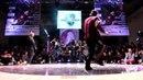 Nastya vs Andrey Stylez Hip Hop 1 2 Adults Explosion Battle 2016 Cherkassy Ukraine