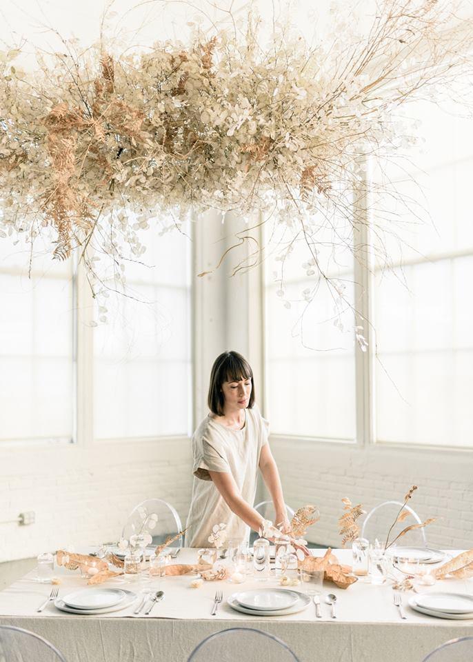 Сара Винвард и ее инсталляция «Облако пустыни»