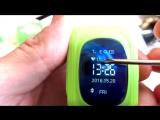 Цена 1400р. Обзор Детские умные часы с GPS трекером Smart Baby Watch