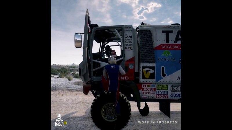 Dakar 18 The Game - Truck Adventure Physics