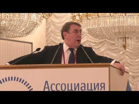 Съезд АРБ 2018 Председатель партии Гражданская инициатива Андрей Нечаев