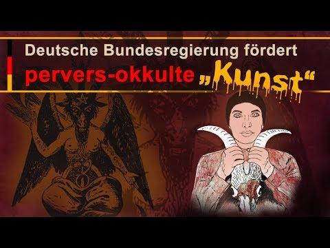 """Deutsche Bundesregierung fördert pervers-okkulte """"Kunst""""   31.05.2018   www.kla.tv/12527"""