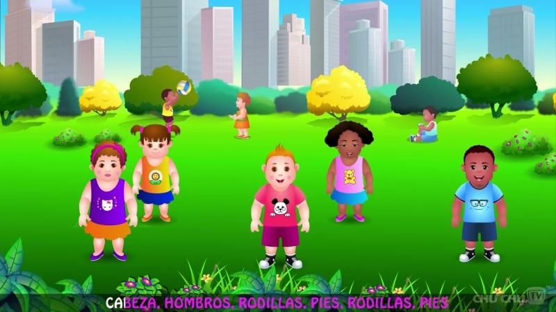 Cabeza, Hombros, Rodillas y Pies - Canción de Ejercicios Para Niños - ChuChu TV