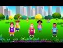 Cabeza Hombros Rodillas y Pies Canción de Ejercicios Para Niños ChuChu TV