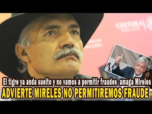No vamos a permitir más fraudes electorales, amaga Mireles