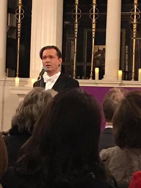 13 марта 2018 г., Песни любви, Grosvenor Chapel, Лондон, Англия QsQejPd_fJM