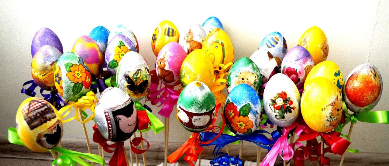 28.03.2018 пасхальный мастер-класс на деревянных яйцах