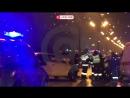 Авария с двумя такси на 21 км МКАД