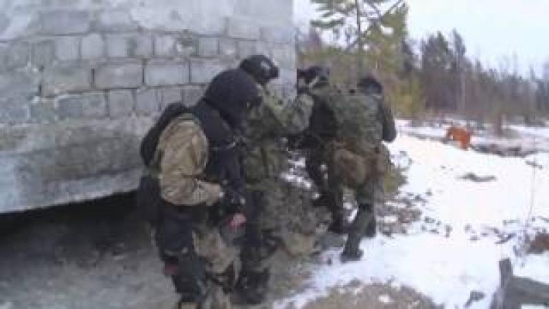 Спецназ ФСБ и МВД тренировки №2 Spetsnaz FSB and MVD Training №2