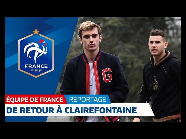 Equipe de France : Les Bleus de retour au Château I FFF 2018